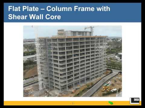 design of concrete slab as seismic Seismic design with wood technical written by:  the posts on the main floor were bolted to the concrete slab of the parking structure,  wood design & building.