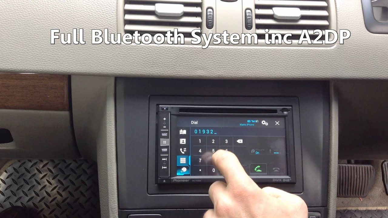 XC90 Double Din Radio Replacement - YouTube