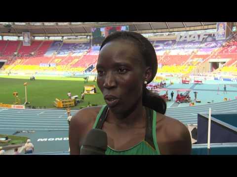 Moscow 2013 - Edna Ngeringwony KIPLAGAT KEN - Marathon Women Final - Gold