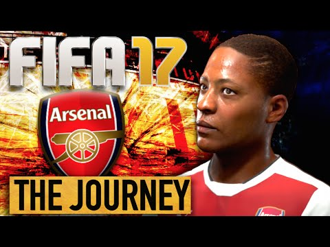 FIFA 17 The Journey | ARSENAL #1 (FIFA 17 The Journey Part 1)