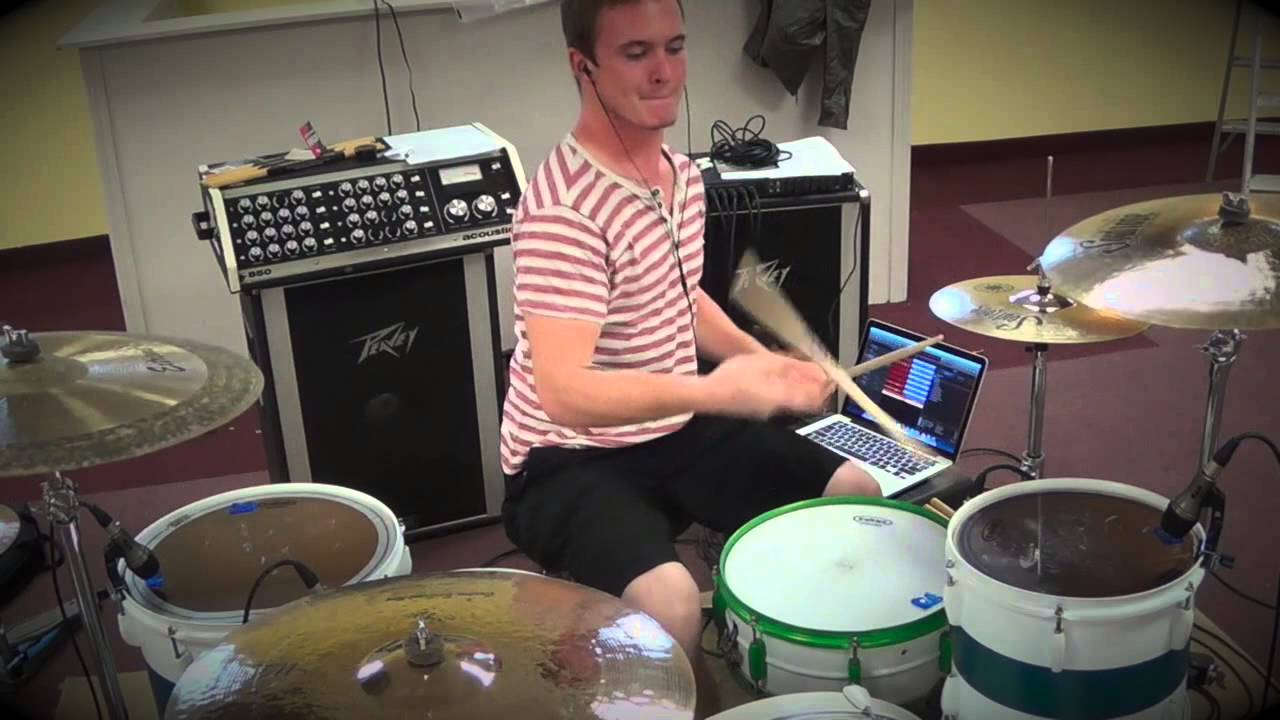 Lollipop (Framing Hanley) Drum Cover - YouTube