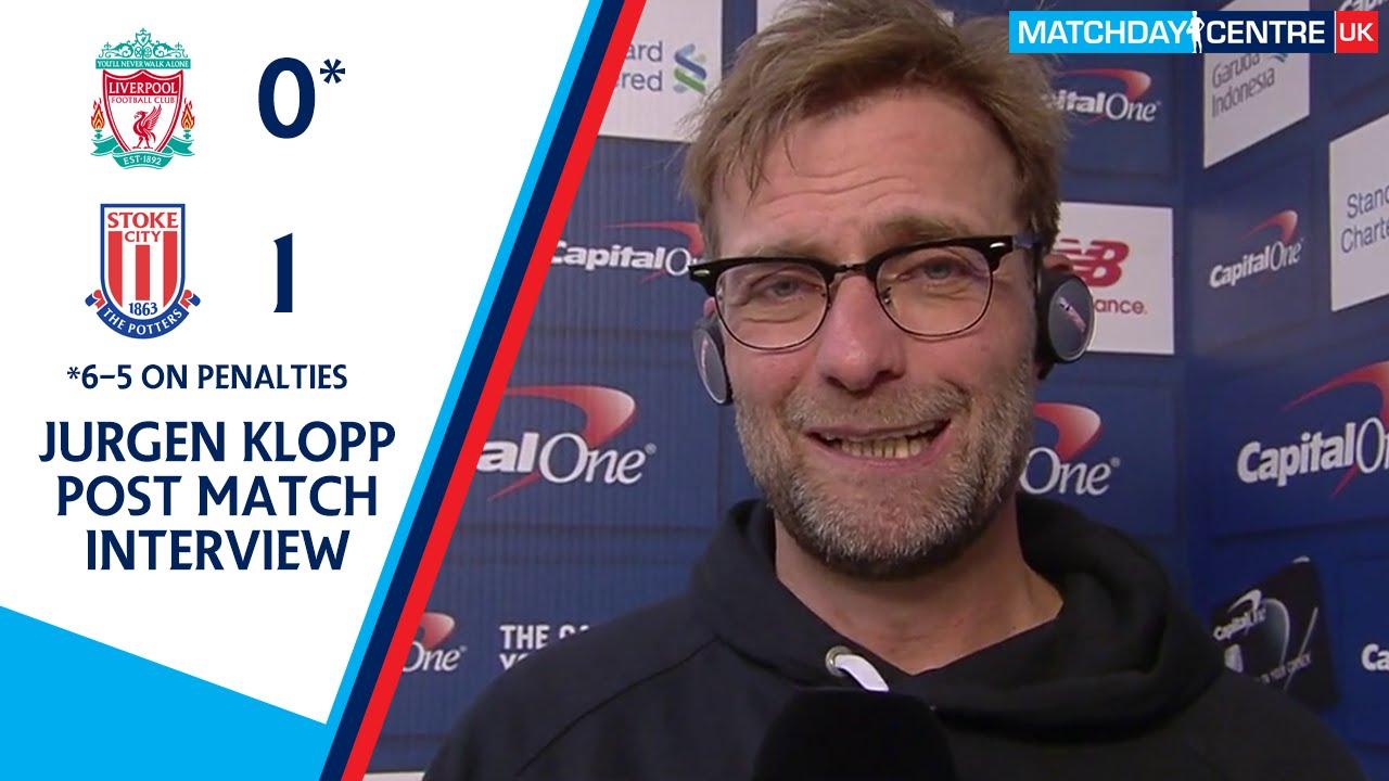 Liverpool 0-1 Stoke City : Jurgen Klopp Interview - YouTube