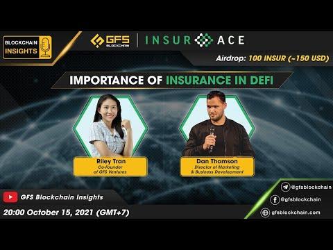 Blockchain Insights #12: InsurAce Protocol - Importance of Insurance in DeFi