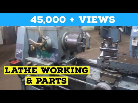 Explain Lathe And Its Components : Mechanical Lab Production