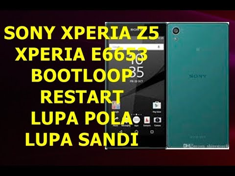CARA HARD RESET SONY EXPERIA Z (C6603) LUPA POLA / PASWORD.