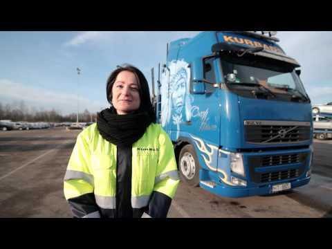 Kurbads komandā Latvijā pirmā sieviete - kravas autovedēja vadītāja!
