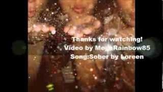 Loreen-Sober (Lyrics on screen)