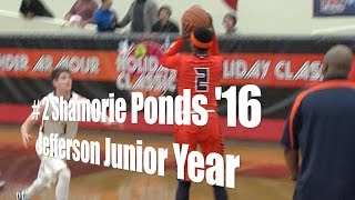 # 2 Shamorie Ponds '16, Jefferson Junior Year at the UA Holiday Classic
