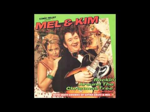 Kim Wilde - Rockin' Around the Christmas Tree with Mel Smith - YouTube