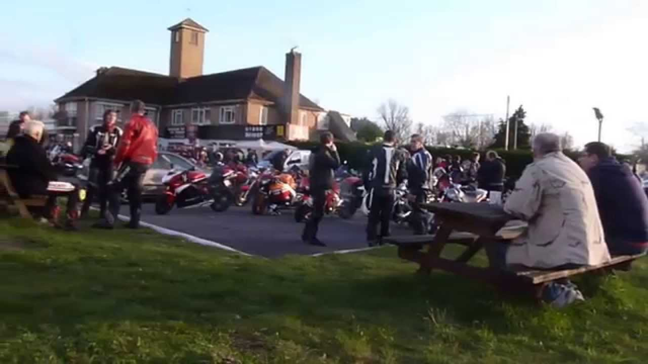 7709e43909be H Cafe Berinsfield Monday Evening Meetup for Bikers - YouTube