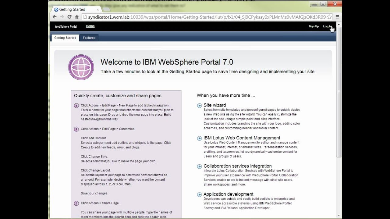 How to set up a IBM Web Content Manager Syndication Pair ...