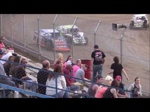 UMP Modified B-Main from Florence Speedway, March 25th, 2017.