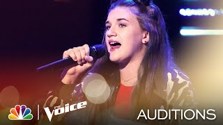 """14-Year-Old Hailey Green Sings The Allman Brothers Band's """"Soulshine"""" - Voice Blind Auditions 2020"""