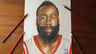 Drawing James Harden || Houston Rockets