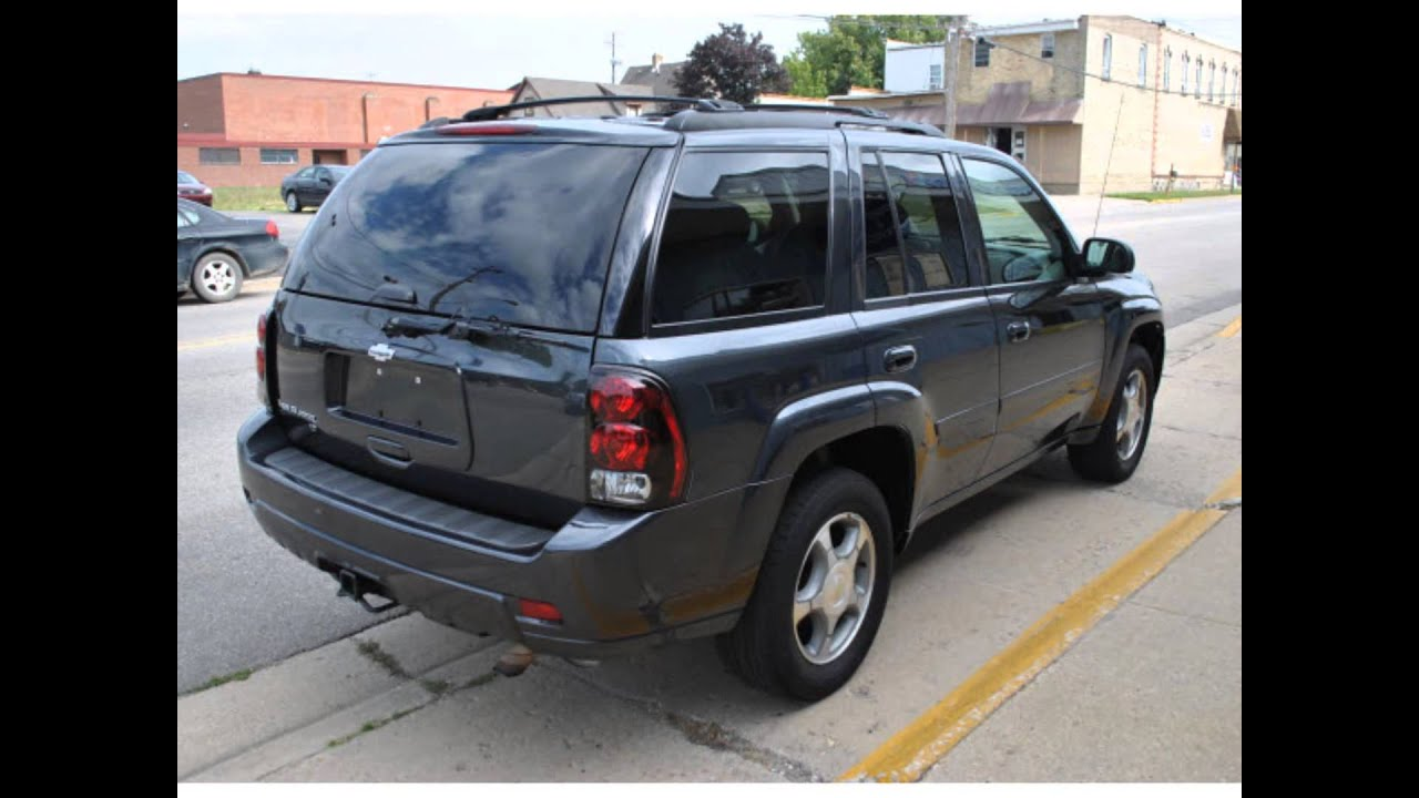 High Quality 2006 Chevrolet TrailBlazer LS    Dark Gray Metallic    $7,700