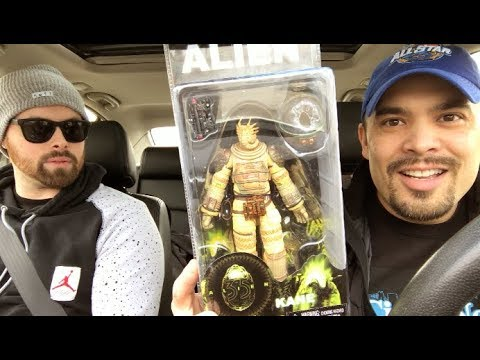 Episode 208  TOY HUNTING COLLAB with JOSH PENCE! NECA! MARVEL SELECT! STAR WARS! BROHIO!