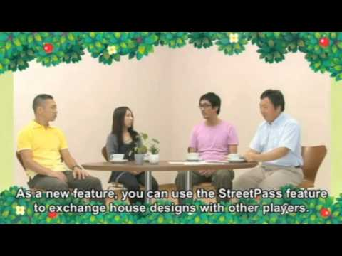 Animal Crossing 3DS - Developer Roundtable - English Subtitles