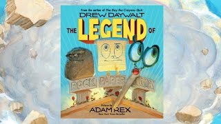 THE LEGEND OF ROCK PAPER SCISSORS by Drew Daywalt | Official Book Trailer