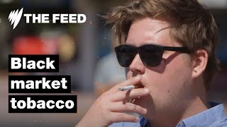 Black market tobacco floods Australian market