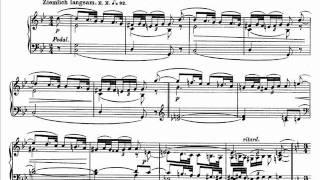 Jörg Demus plays Schumann Faschingsschwank aus Wien Op.26 - 2. Romanze