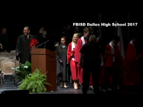 Fort Bend ISD Dulles High School Graduation 2017