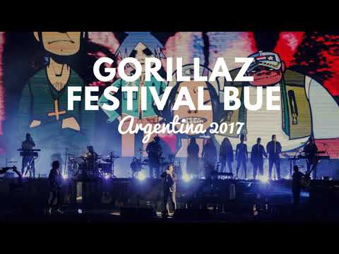 Gorillaz - Festival BUE, Argentina - Radio Metro (Full Concert)