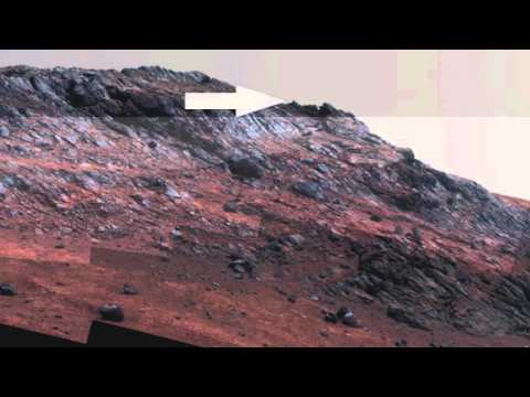 Mars Anomalies An Alien Vehicle and E.T.