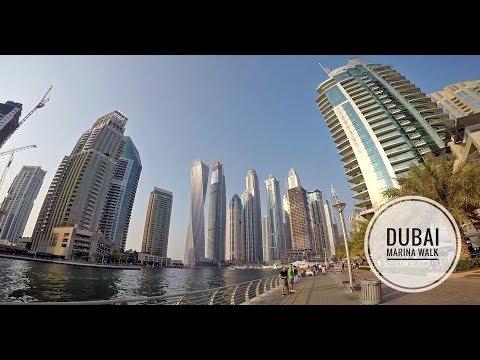 Dubai Marina Walk - Dubai UAE