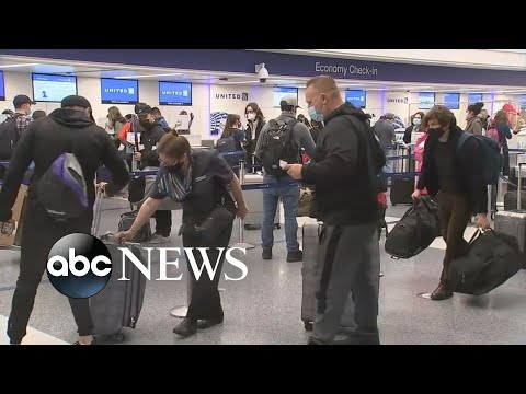 ABC News Live Update: US reinstating travel ban to fight spread of COVID-19 variants