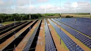 3.45 MW Solar Power Plant - Zakarpattia, Ukraine