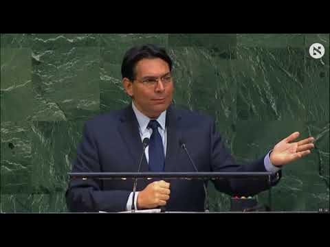 Israeli ambassador to the UN: Full speech