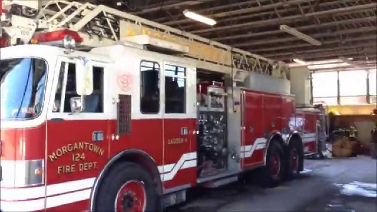 Morgantown Fire Dept South Side Station 1 Walk Around