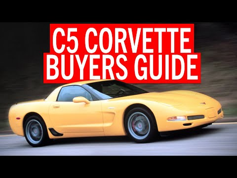 C5 Corvette buying guide and performance tips. GRM Live! Presented by CRC Industries