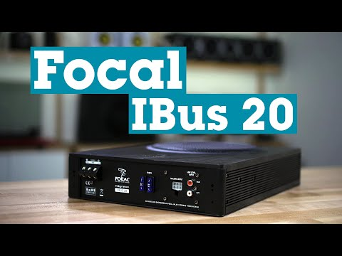 Focal Integration IBus 20 Compact Powered Subwoofer | Crutchfield