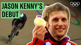 Jason Kenny's 🇬🇧 first Olympic race! 🚴♂️