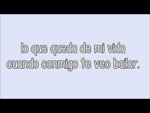 (Letra) Canto 4 + Axel - Al bailar