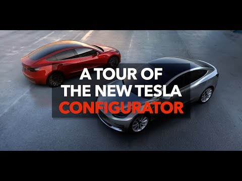 A tour of the new Tesla Configurator | Model 3 Owners Club