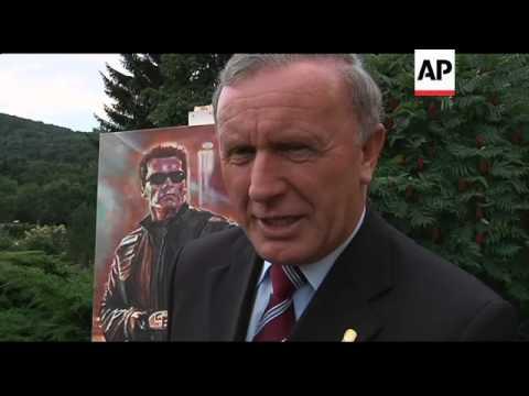 Arnold Schwarzenegger museum opens in Austria