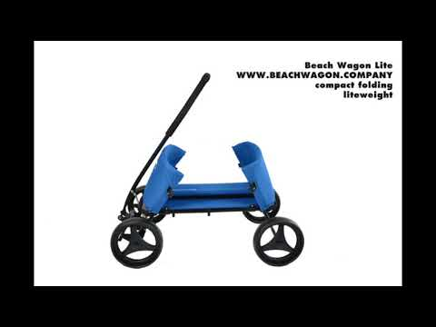 "Video: Beach Wagon Company ""Lite"" Push-Along Cart"