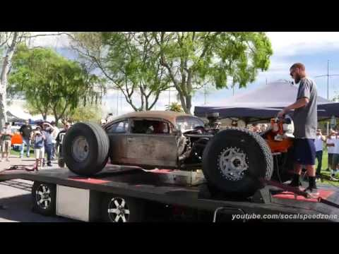 VW Bug Rat Rod dyno run