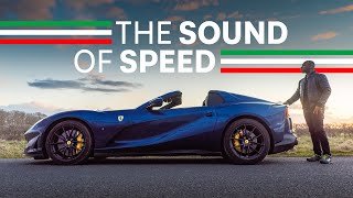 2021 Ferrari 812 GTS Review: The Sound Of Speed | 4K