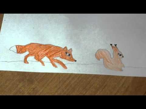 детский рисунок народные сказки