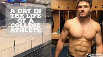 A Day in the Life of a College Athlete: Hockey Player