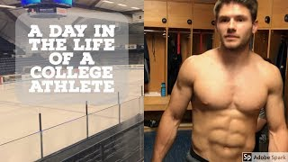 Follow me around for a day in my life during pre season college hoc...