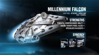 Star Wars: Galaxy of Heroes - Han's Millennium Falcon Spotlight