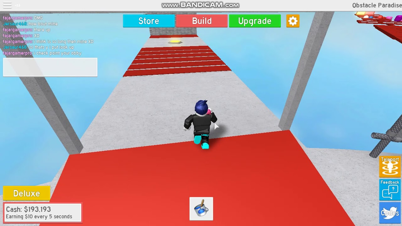 Building The Hardest Obby In Roblox Obstacle Paradise - obstacle paradise roblox codes