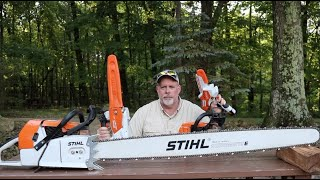 #844 The BEST Stihl Chainsaw for MY Firewood Needs
