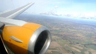 Beautiful flight on Jet Time (SAS) ✈ Boeing 737-300 [OY-JTF] ✈ Aalborg - Copenhagen ✈ 05 APR 2015