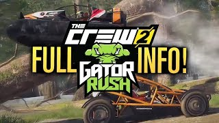 NEW The Crew 2 GATOR RUSH INFO! (NEW CARS, Races, Parts & Hovercraft)