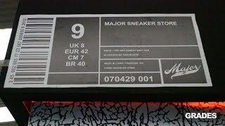 HUNTING GRADES: Major Sneaker Store LA